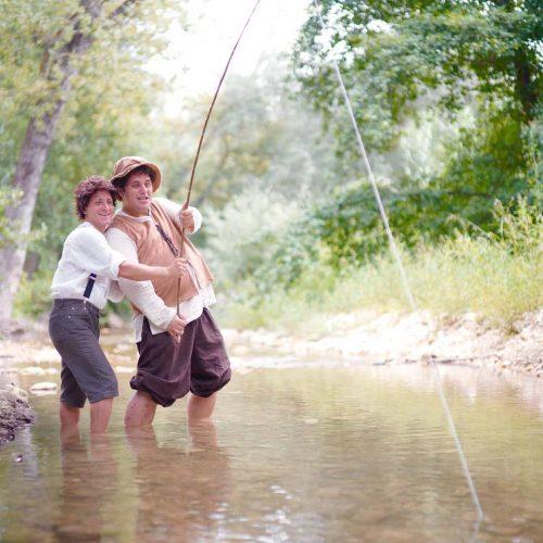 Pescare in compagnia